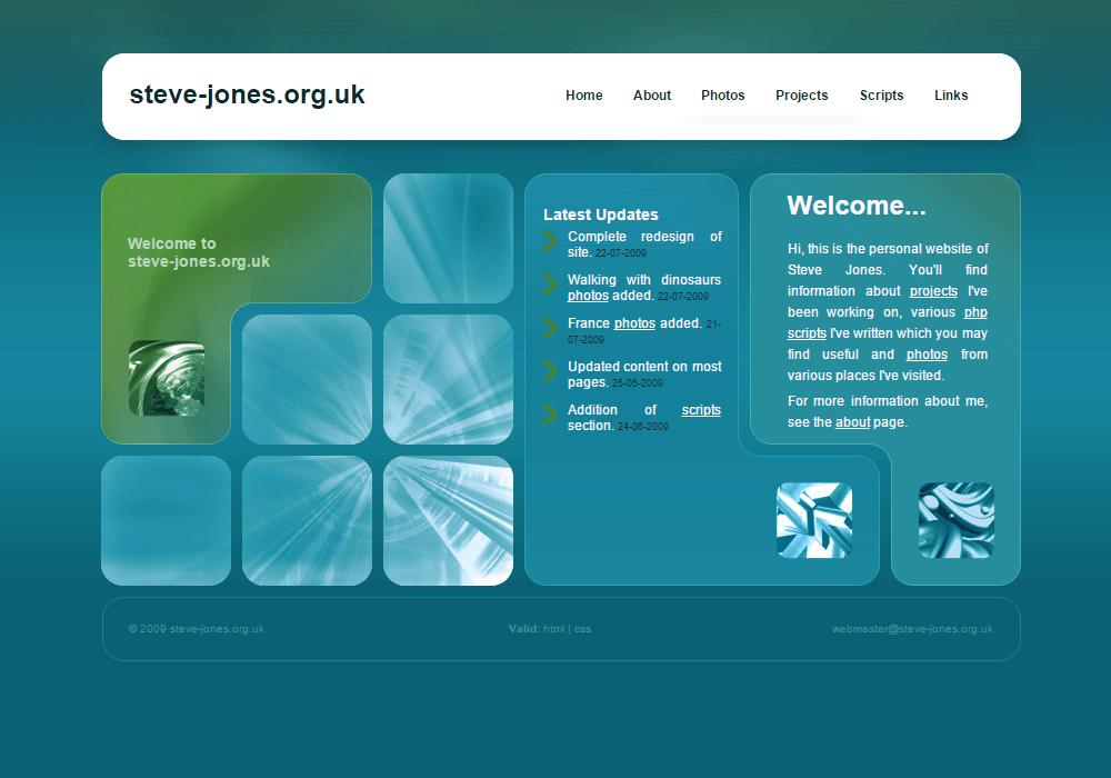 2009 Website