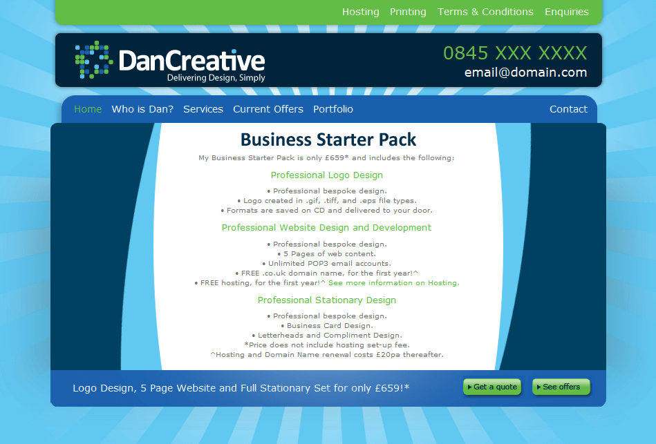 DAN CREATIVE - HOME PAGE