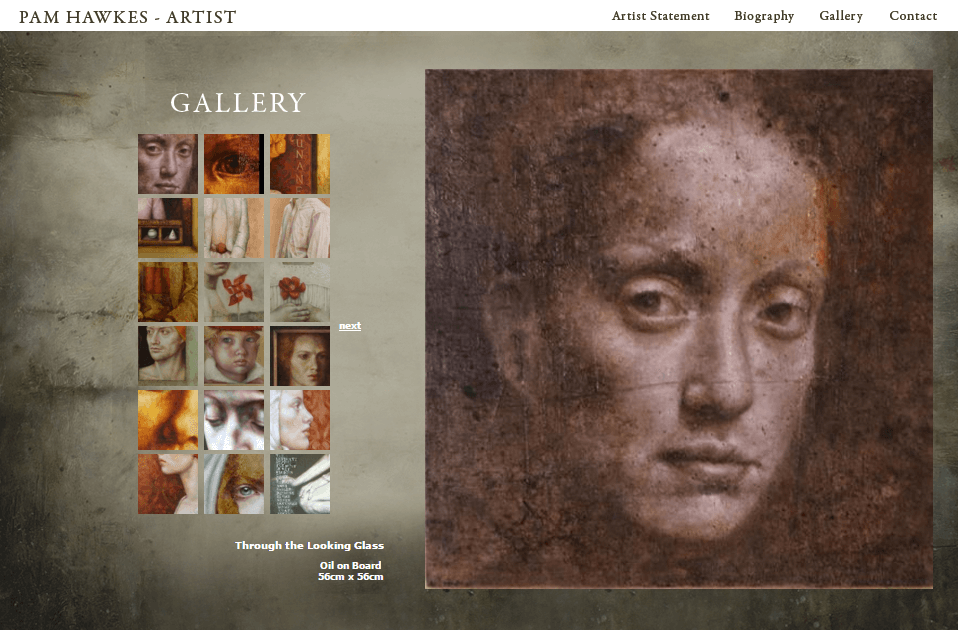 PAM HAWKES - GALLERY