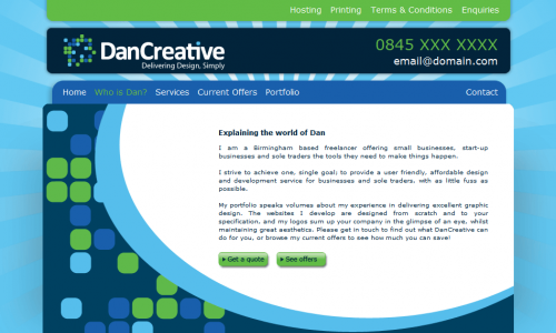 DAN CREATIVE - ABOUT
