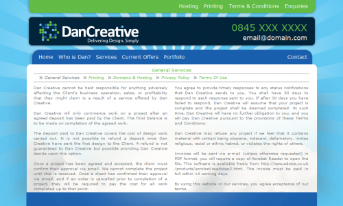 DAN CREATIVE - SERVICES