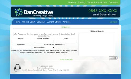 DAN CREATIVE - CONTACT