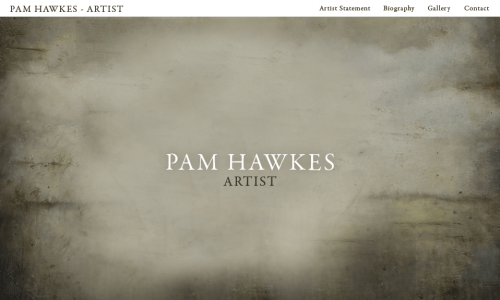 PAM HAWKES - HOME PAGE