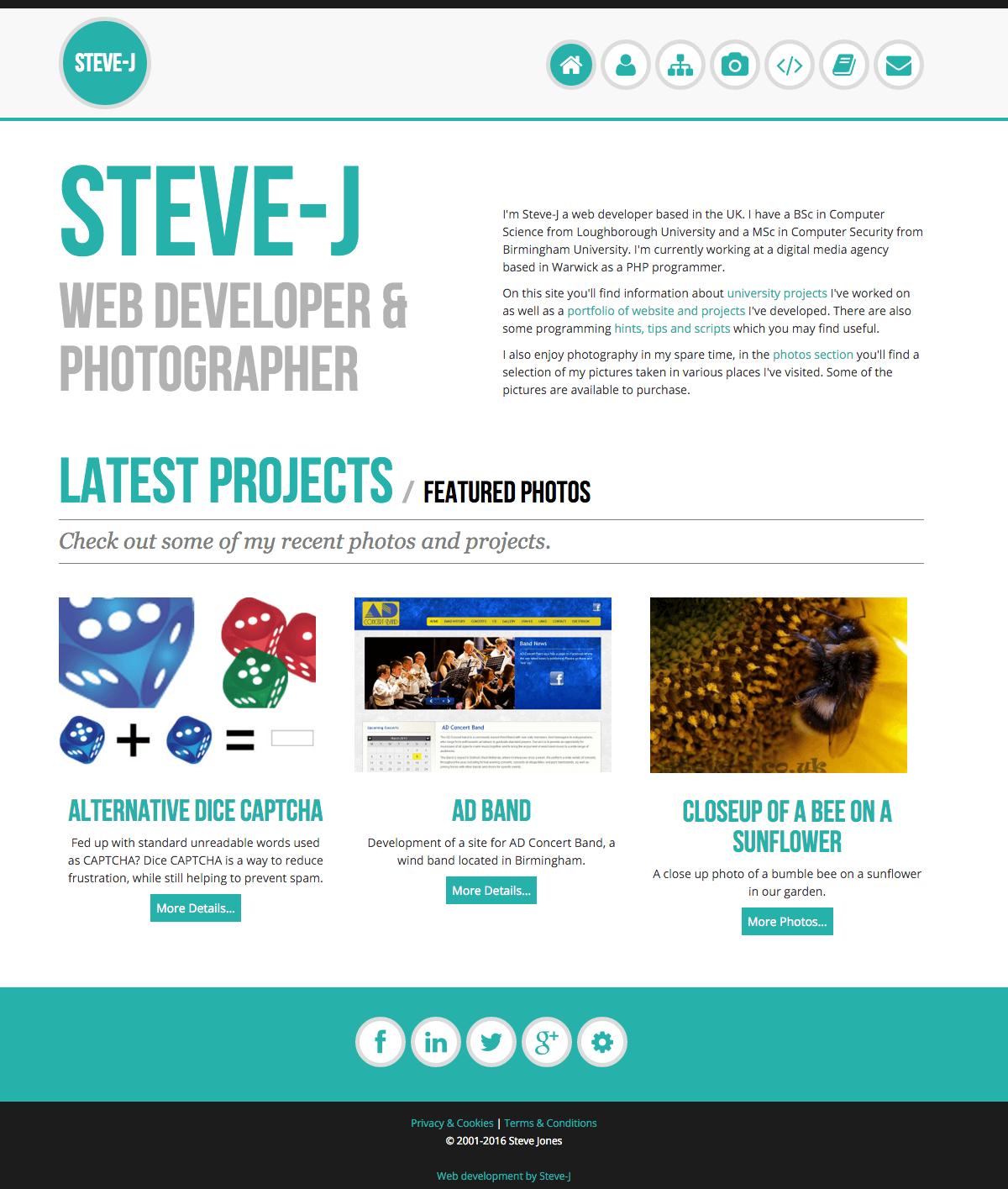 STEVE-J - HOME PAGE